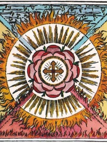 Symbol der Rosenkreuzer