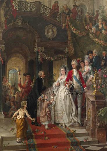 Hochzeit im Rokoko