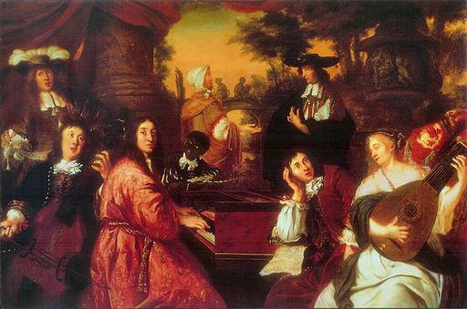 "Johann Voorhout: ""Häusliche Musikszene"", 1674"