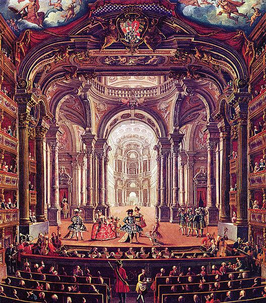Giovanni Michele Graneri, Teatro Regio in Turin, ca. 1752