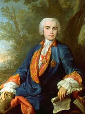 Portrait von Farinelli