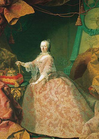 Kaiserin Maria Theresia, Gemälde von Martin van Meytens, um 1752